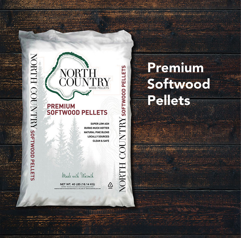 Premium Softwood Pellets